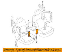 GM OEM Front Seat Belt-Buckle End Left 12474639