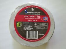 "New listing Hardcast Foil-Grip 1402 Mastic Duct Sealant 2"" x 100'"
