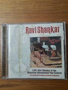 Ravi Shankar Live at the Monterey International Pop Festival (1998) CD