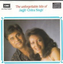 The Unforgettable Hits of Jagjit and Chitra Singh CD VTG 1988 USA - CD DISC ONLY