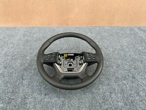 HYUNDAI GENESIS & G80 SEDAN 2015-2019 OEM STEERING WHEEL WITH SWITCHES