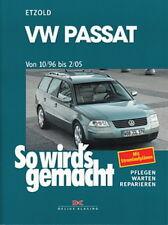 VW PASSAT B5 Reparaturanleitung So wirds gemacht/Etzold Reparaturbuch/Handbuch