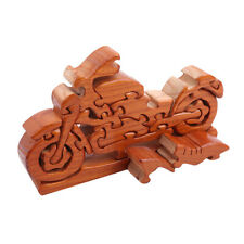 3D Woodcraft Construction en Bois en Bois Modèle Bike Jigsaw Puzzle Enfants Jouet 8 C