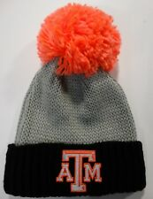 Texas A&M Aggies Adidas Adult Pom Pom Poof Knit Stocking Winter Hat - NWT