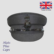 Mens Quality Dark Grey Formal Chauffeur Hat Professional chauffer Drivers  Cap 38bfd7cd6805