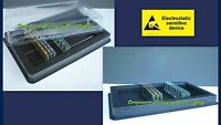 Desktop Memory Case Tray Case for PC DDR DRAM RAM DIMM Modules - 2 fits 100 New