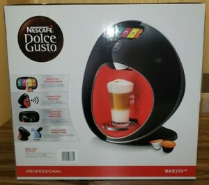 NESCAFE Dolce Gusto Majesto Pro Automatic Capsule Coffee Machine Black NEW