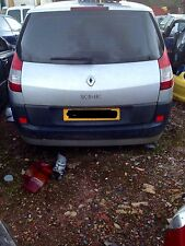 Renault Megane Scenic Rear Hatch / Tail Gate, Complete - Silver - '05 reg