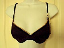 Jasmine and Ginger Under wire bra Size 28C Black