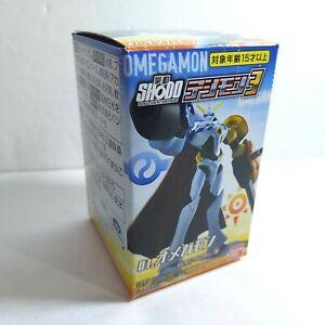 "2021 Digimon Shodo MISB 3"" Omnimon Omegamon Posable Figure Bandai"