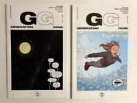 GENERATION GONE #1 & #2 LOT SET RUN 2017 IMAGE KOT ARUJO FIRST ISSUE UNREAD