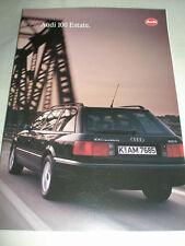 Audi 100 Estate range brochure Aug 1993
