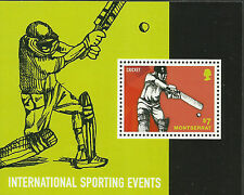 MONTSERRAT 2014 CRICKET International Sporting Events Souvenir Sheet MNH