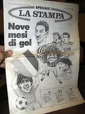 X466_NOVE MESI DI GOL, 13 settembre 1987 - Speciale LA STAMPA