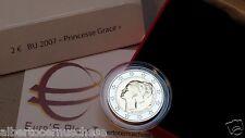 MONACO BU 2 euro 2007 Grace Kelly in cofanetto ufficiale Монако the original