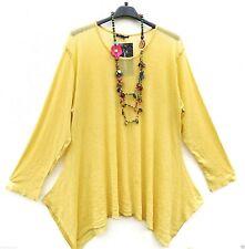 SARAH SANTOS Basic Shirt Untershirt Tunika Tunic Tunique XXL 52 54 Lagenlook *