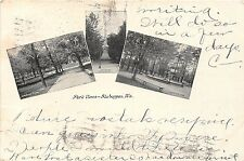 Wisconsin postcard Sheboygan, Park Views ca 1905