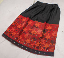 Rabari Gypsy Ethnic Banjara Tribal Boho Embroidery India Kuchi Belly Dance Skirt