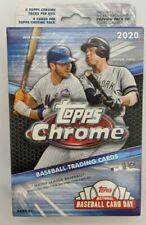 Topps 2020 Chrome Baseball Hanger Box Card