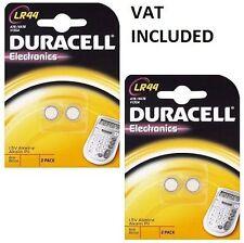 Duracell Alkaline LR44 Single Use Batteries