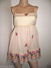 Cotton Floral Dresses for Women with Embroidered