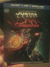 Justice League: Apokolips War (Blu-Ray + Dvd (No Digital)