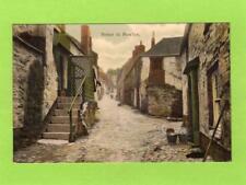 Street in Newlyn Nr Penzance  pc  used 1907 Woodbury Ref C840
