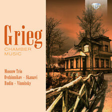 Alexander Rudin, E. Grieg - Chamber Music [New CD]