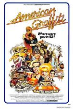American Graffiti Movie POSTER 27 x 40, Ron Howard, A, LICENSED NEW