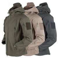 Tactical Recon Full Zip Fleece Jacket Army Hoodie Security Military Hoody Combat