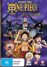 One Piece (Uncut) Collection 28 (Eps 337-348) NEW R4 DVD