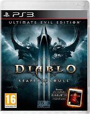 Diablo III 3 Reaper of Souls Ultimate Evil Edition Ps3 Game