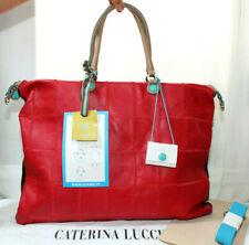 Borsa in pelle e tessuto donna GABS made in Italy con dust bag