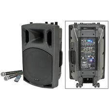 Qtx Sound qx15pa haut-parleur PA portable avec USB SD FM LECTEUR & Bluetooth