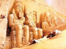 Abu Simbel Temple - Egyptian Art - Handmade Oil Painting On Canvas