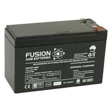 Fusion 12V 7.5Ah CB12V7.5AH AGM VRLA Security Back Up Alarm Battery