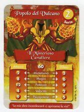 figurina - CARD GORMITI - SERIE 2 IL MISTERIOSO CAVALIERE