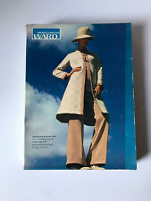 Vintage Montgomery Ward Spring Summer 1971 Catalog (1219 pgs) Fashion Home Décor