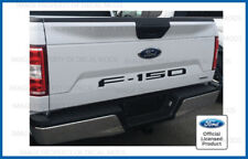 2018 Ford F150 Tailgate Insert Decals Letters Indent Stickers - MATTE FLAT BLACK
