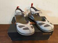Merrell Women's Siren WRAP Q2 Athletic Sandal, Aluminum, 9 M US