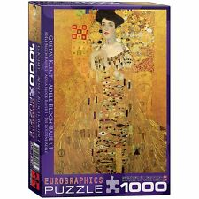 Portrait of Adele Bloch-Bauer 1000 Piece Puzzle