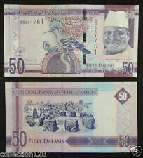 Gambia / Africa Paper Money 50 Dalasis 2015 UNC