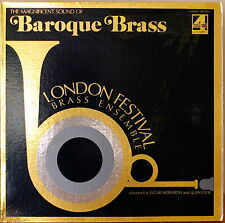THE MAGNIFICENT SOUND OF BAROQUE BRASS-1973LP London Festival Brass Ensemble