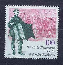 ALEMANIA BERLIN GERMANY 1990 MNH SC.9N589 Barrel organ 200th