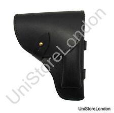 Holster Black Leather Fit Over 2 1/4 inch wide Belt R1367
