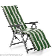 Auflagen für Relax Liegestuhl Relaxsessel Relaxauflagen Naxos 20581-200 in grün