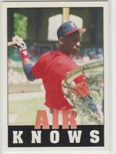 "Michael Jordan ""Air Knows""  Card  Rare  MINT SHAPE !!"