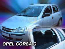 2000-2006 Climair ABE Windabweiser Glasklar vorn Opel Corsa Typ Corsa-C Bj