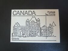 """CANADA STAMPS #BK82 MINT 1982 """"MAPLE LEAF ISSUE """" BOOKLET  SEALED --ONTARIO"""