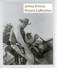 James Arness Private Collection Gunsmoke Marshal Dillon On Horse  8 x 10 Photo